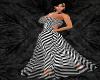 LadyK Luv3 B&W Stripes