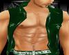 Green Goth PVC Vest