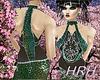 HRH Fantasy Green Sequin