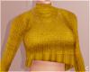 !© Loose Sweater Yllw