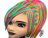 GF-Rainbow Liye hair