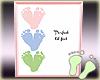 Framed Triplets Feet