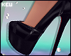 ʞ- Yikes Noir Heels