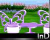 IN} Purple Butterfly Set