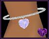 Diamond Heart Anklet