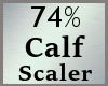 74% Calves Calf Scale MA