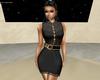 EM-lace black dress gold
