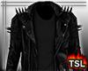 Leather Jacket  w Black