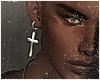 Earring Cross.