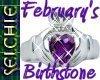 !!S Birthstone February