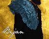 Aqua Shoulder Fur