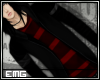 EMG Jacket-H Red stripes