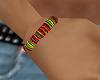 Male Rasta Bracelet