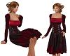 TF* Wine Corsette Dress