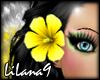 *LL* Yellow hair flower