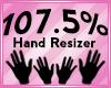 Hand Scaler 107.5%