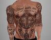~CR~Maori  Full Body Tat