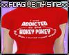 ADDICTED TO THE HOKEY PO