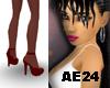 [AE24] Sheer DkRed