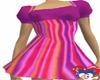 PURPLE RETRO DRESS