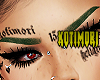 green brows
