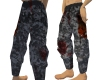 Bloodied Gray Camo Pants