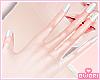 💕 Cute Nail White