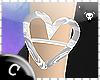 .C Silver Heart Bracelet