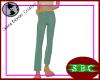 LiS Green Slacks F