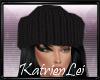 KL* Black knitted Hat