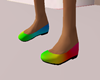 Girl Rainbow Shoes