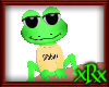 Frog Pet Ribbit Yellow