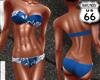 SD Blue Twist Bikini