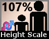 Scaler Height 107% F A