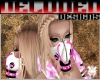 Hot Pink White dub Mask