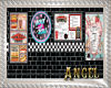 [AIB] 50's Diner Wall