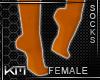 +KM+ Socks Orange