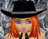 Midnight Cowgirl Hat FL2