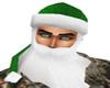green hat beard