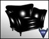 Black PVC chair NonRflct