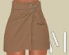 Camel Mini Skirt | S