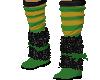 Green Gold Sock boot