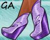 GA Violet Wedge
