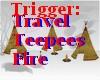 AO~Traveling Teepee/fire