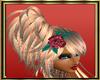 Rosey Coral  Hair Rose