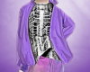 pastel goth jacket