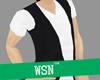 [wsn]Vneck+Vest