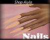 Long Nude Nails
