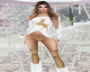 Gold Stag Sweater Set