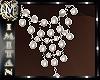 (MI) Gold long pearls